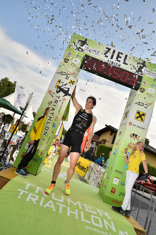 Gewinner des 7. Trumer Triathlon